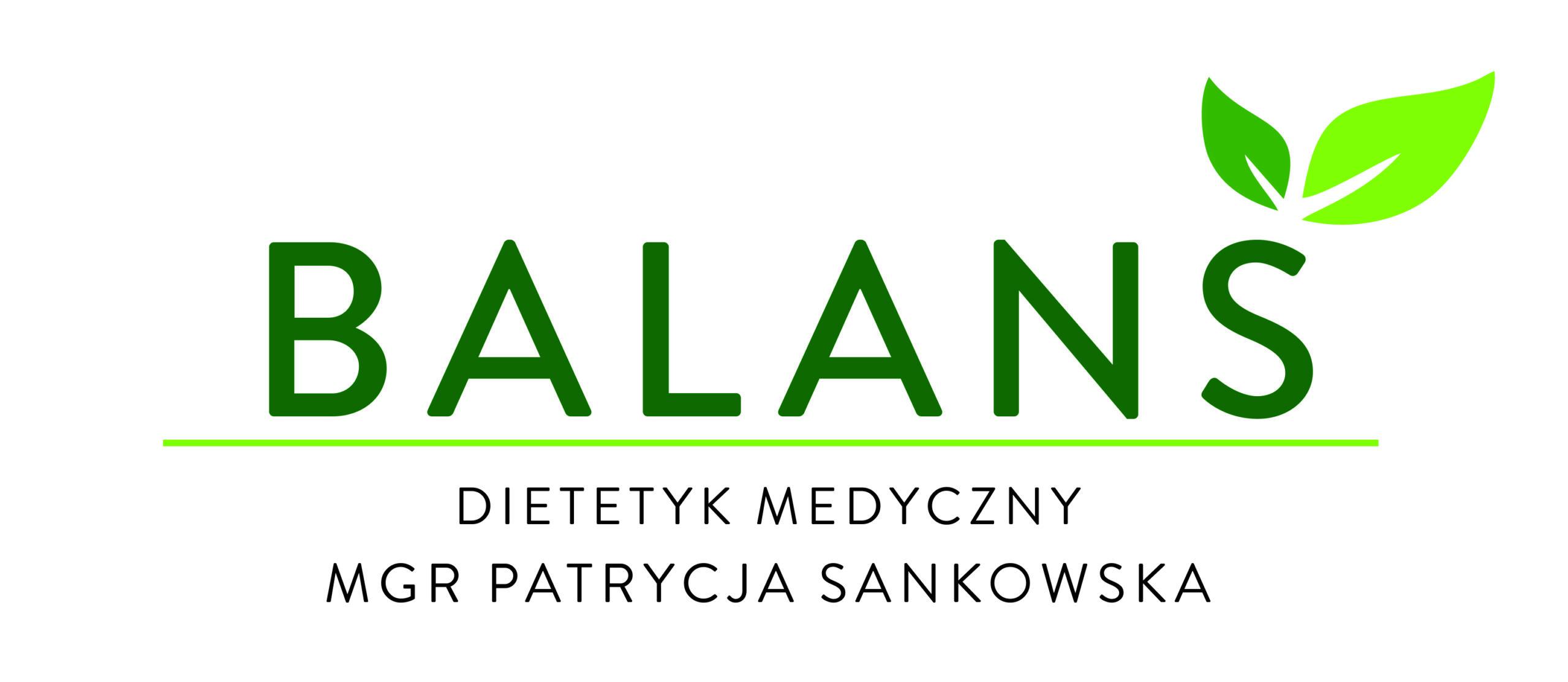 Dietetyk medyczny mgr Patrycja Sankowska